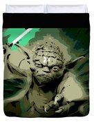 Angry Yoda Duvet Cover