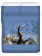 Anhinga - Drying Out Duvet Cover