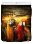 Animal - Parrot - Parrot-dise Duvet Cover