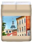 Annapolis Duomo Duvet Cover