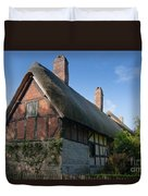 Anne Hathaway's Cottage Duvet Cover