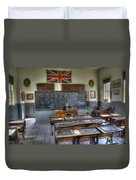 Another Brick In The Wall Duvet Cover by Bob Christopher