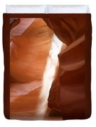 Antelope Canyon - The Mystery Of Nature's Creativity Duvet Cover by Christine Till