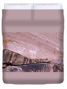 Antelope House Petroglyphs Duvet Cover
