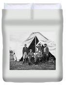 Antietam: Officials, 1862 Duvet Cover