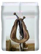 Antiquated Horse Collar Duvet Cover