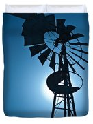 Antique Aermotor Windmill Duvet Cover