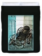 Antique Baby Carriage Duvet Cover