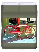 Antique Bicycle Duvet Cover
