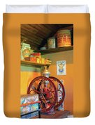 Antique Coffee Mill Duvet Cover