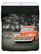 Antique Ford Car 7 Duvet Cover