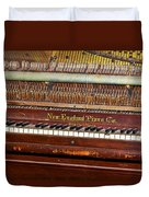 Antique Piano Duvet Cover