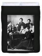 Anton Chekhov (1860-1904) Duvet Cover