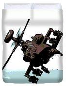 Apache Preparing To Attack Duvet Cover