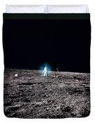 Apollo 12 Astronaut Duvet Cover