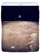 Apollo 12 Lunar Lander Duvet Cover
