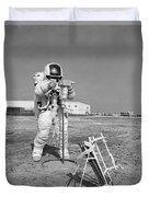 Apollo 13 Astronaut Walks Duvet Cover