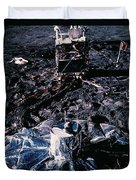 Apollo 14 Lunar Experiments Duvet Cover