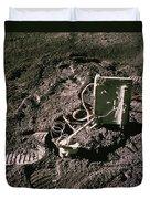 Apollo 15 Lunar Experiment Duvet Cover