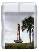 Apollo 4 And Its Mobile Launch Tower Duvet Cover