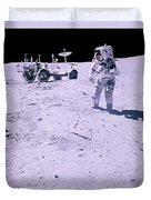 Apollo Mission 16 Duvet Cover