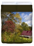 Appalachian Autumn Duvet Cover