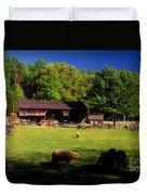 Appalachian Barn Yard Duvet Cover