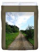 Apple Fields Duvet Cover