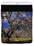 Apple Trees In An Orchard, County Duvet Cover