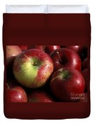 Apples For Sale Duvet Cover