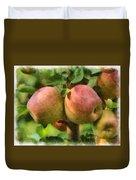Apples Painterly Duvet Cover
