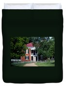 Appomattox County Court House 1 Duvet Cover by Teresa Mucha