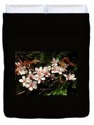 April Plum Blossom Duvet Cover
