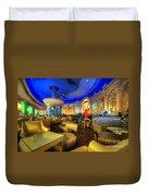 Aqua Bar Duvet Cover