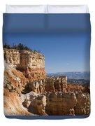 Aqua Canyon Duvet Cover