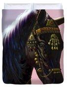 Arab Horse Duvet Cover