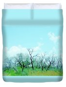 Aransas Nwr Texas Duvet Cover