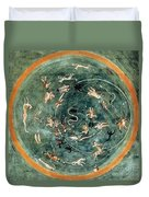 Aratuss Constellations Duvet Cover by Science Source