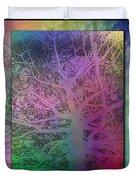 Arboreal Mist Trilogy Duvet Cover