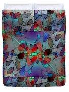 Arboretum Colorful Duvet Cover