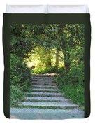 Arboretum Steps Duvet Cover