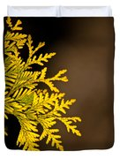 Arbovitae Fan 1 Duvet Cover