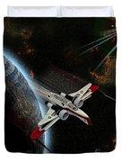 10117 Arc-170 Starfighter Duvet Cover