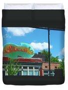 Arcade Restaurant Memphis Duvet Cover