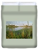 Arcata Marsh Duvet Cover