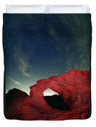 Arch And Stars Duvet Cover