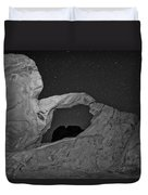 Arch In Valley Of Fire Nevada Duvet Cover