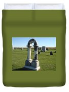 Arch Tombstone Duvet Cover