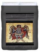 Archangel Michael Mosaic Duvet Cover