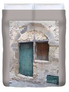 Arched Stone Work Over Door Duvet Cover